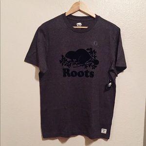 Roots | Men's Charcoal Grey Top
